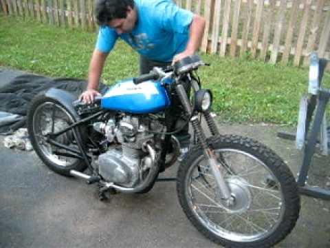 Honda CB350 Bobber