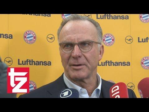 """Kampfansage an RB Leipzig: """"Wir werden jetzt Jagd machen"""" - Karl-Heinz Rummenigge - FC Bayern"""