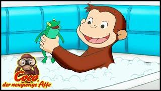Coco der Neugierige Affe Deutsch 🐵Schlamm und Seifenblasen  🐵Ganze Folgen🐵Cartoons für Kinder