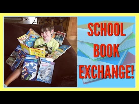 📚 SCHOOL BOOK EXCHANGE! 📚 ~ VLOG