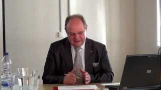 Ambassador Paul Koller at World Peace Academy