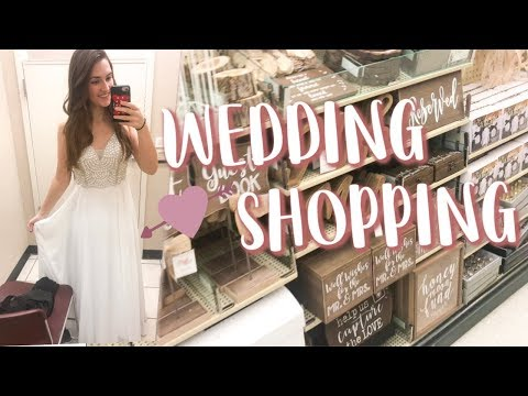 Shop With Me: WEDDING DECOR!
