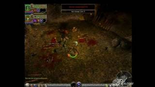 Dungeon Siege II PC Games Gameplay - Caving In