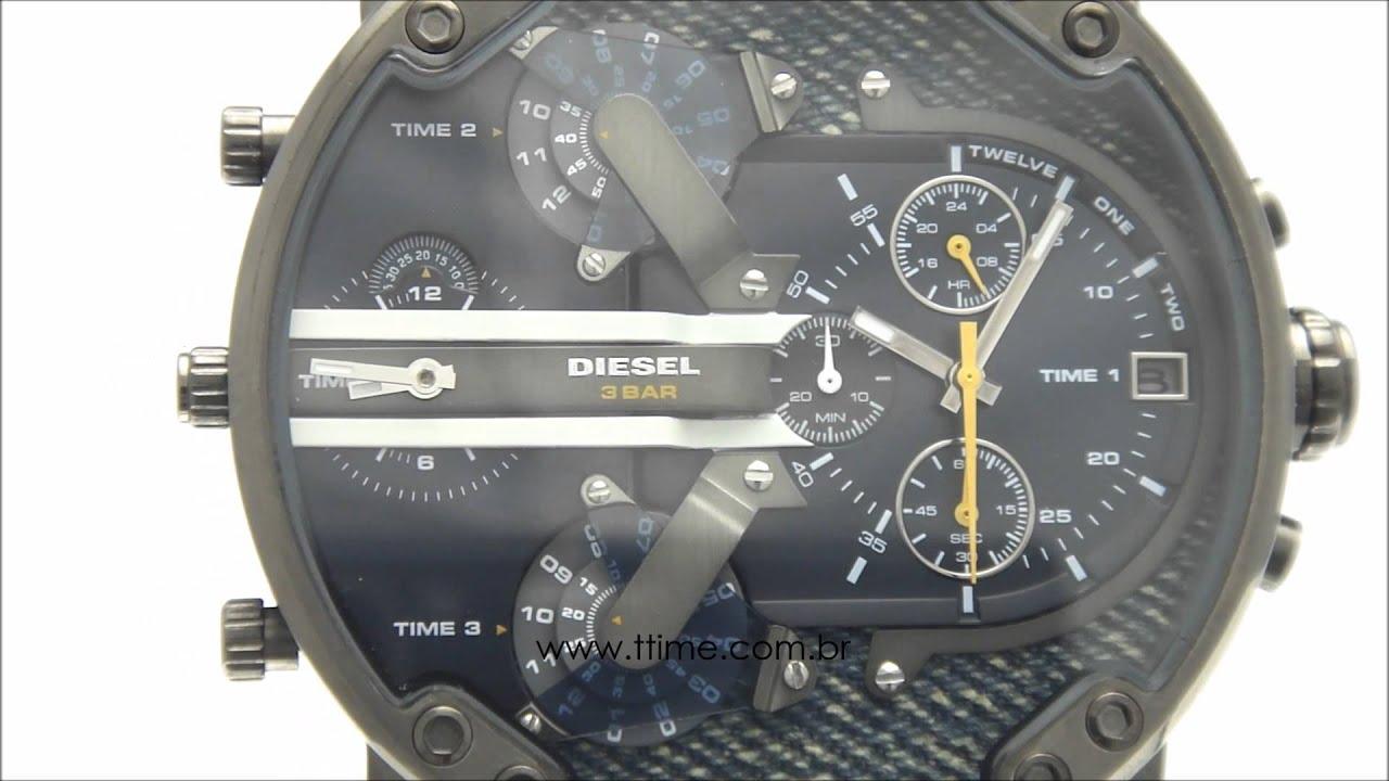 e91ff383a6b Relógio Diesel Mr. Daddy 2.0 DZ7331 1AN - YouTube