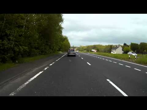 Ballymena A26, left it a bit late to decide they wanted off at the junction!