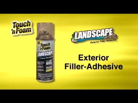 Landscape Exterior Filler - Black Foam