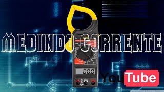 Medir corrente com alicate amperímetro