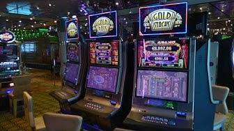 Costa Favolosa. The Casino.Day 3.