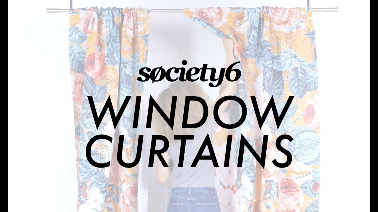 Window Curtains From Society6