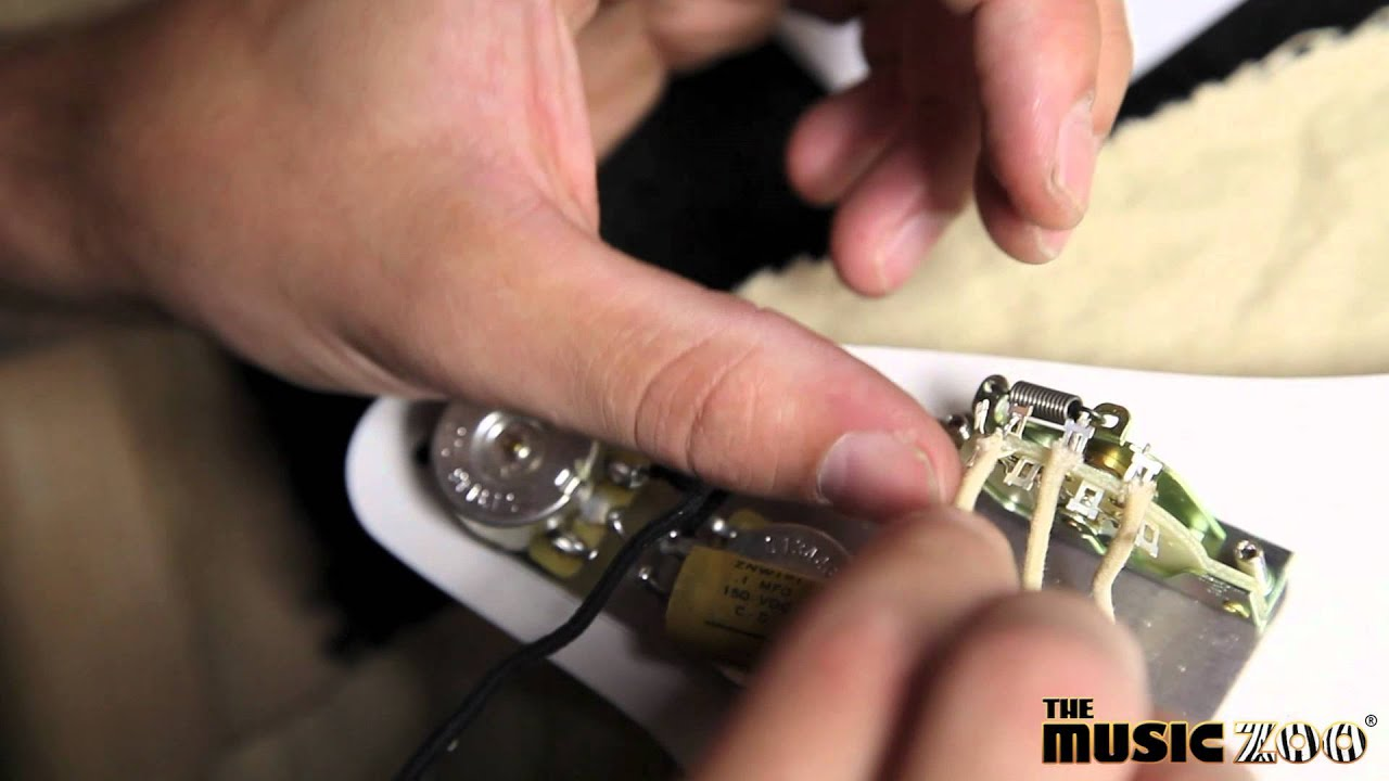 The Music Zoo: How To Wire New Fender America Vintage Stratocaster ...