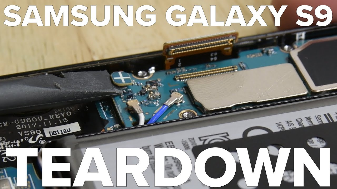 Samsung Galaxy S9 Teardown: How Hard Will It Be To Repair? | Tech Times