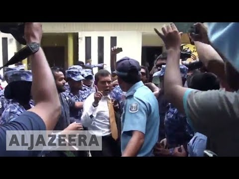 Maldives former president accuses security forces of mistreating him