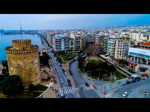 Thessaloniki Greece 4K
