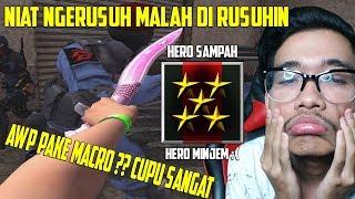 NGERUSUH DI SERVER AWP ONLY !! AWP ONLY ATAU MACRO ONLY ?? POINT BLANK GARENA INDONESIA