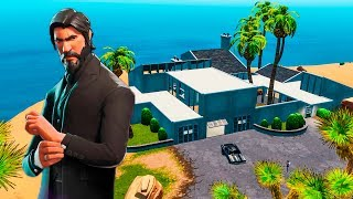 EMPLACEMENT SECRET ? EASTER EGG DE JOHN WICK'S HOUSE IN FORTNITE