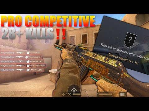 Standoff 2  Pro Competitive Match Gameplay Extremely Close Last Placement Match