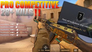 Standoff 2  Pro Competitive Match Gameplay Extremely Close Last Placement Match ‼️