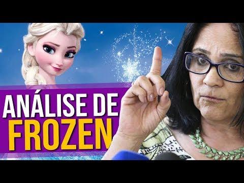 Damares Analisa Trailer de Frozen 2