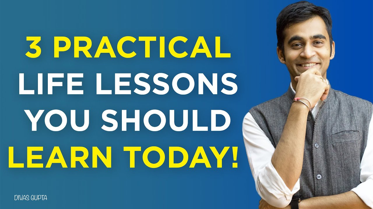 3 subjects your school will never teach you | Important Life Lesson | Divas Gupta
