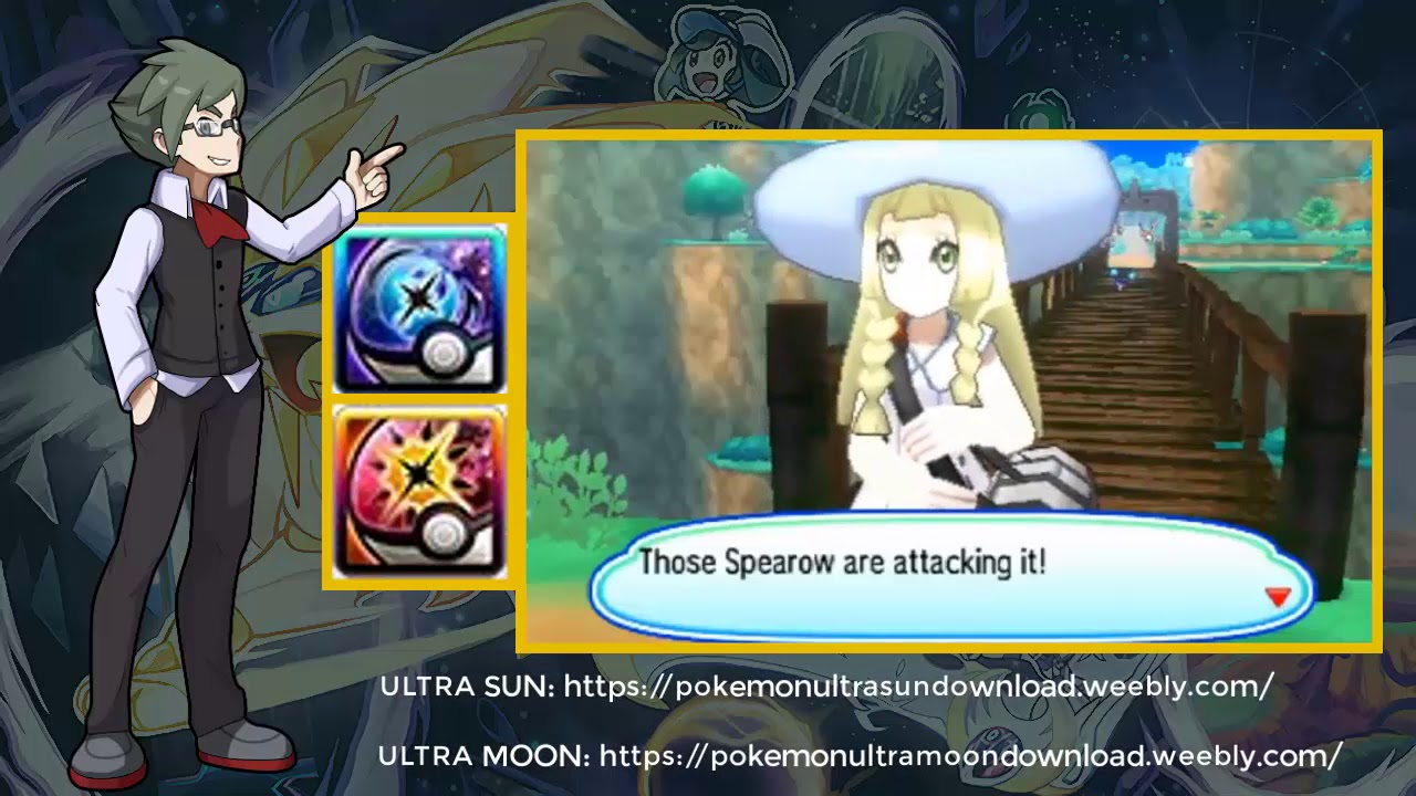 Pokemon Ultra Luna Cia Eur Pokemon Ultra Moon Update 12 3DS WORLD
