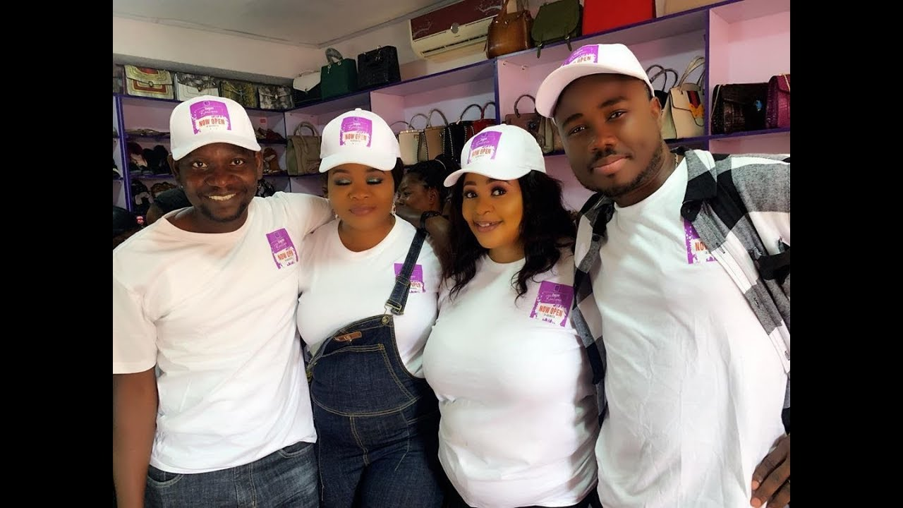 Download See Bimbo Oshin, Afeez Owo Seriously Dancing At Mide Martins' Best Friend New Boutique