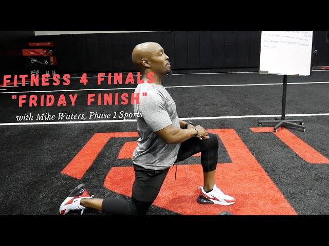 Fitness 4 Finals LIVE Workout with Mike Waters.