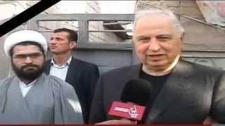 الراحل الدكتور أحمد عبدالهادي الجلبي في زيارة لمراقد كربلاء المقدسة  والمرجعية الدينية