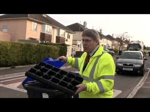 Recycle for Wiltshire - Salisbury blue lidded bin collections