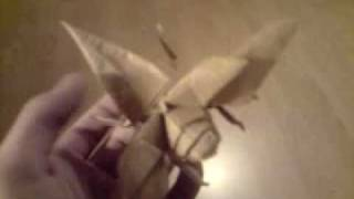 Gambar cover Origami Flying Hercules beetle