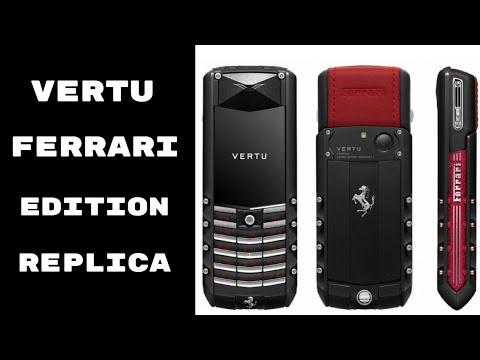 6,50,000 ka phone   Vertu Ferrari Edition   Superbikes World goldy bhaiya   Born Creator