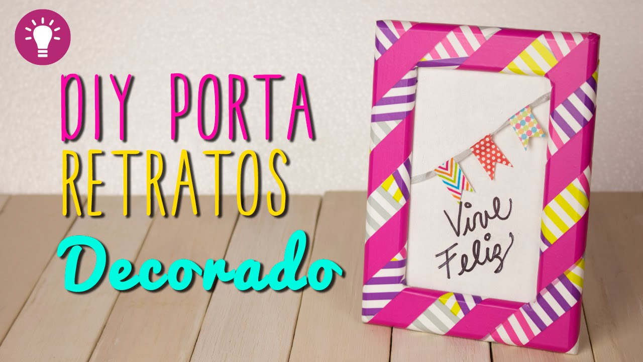Ideas para decorar tu cuarto portaretratos creativo con - Cuartos de bebes decorados ...
