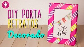 Ideas para decorar tu cuarto - Portaretratos Creativo con Washi Tape - Mini Tip#62 | Catwalk