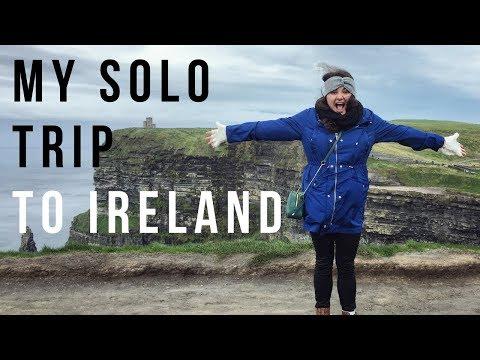 MY SOLO TRIP TO IRELAND