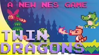 Twin Dragons REVIEW for NES  | A New Homebrew for the Nintendo Entertainment System | Rewind Mike