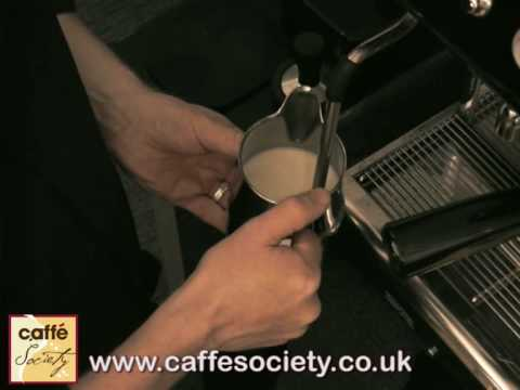 How to froth milk with a steam wand - Barista Tips