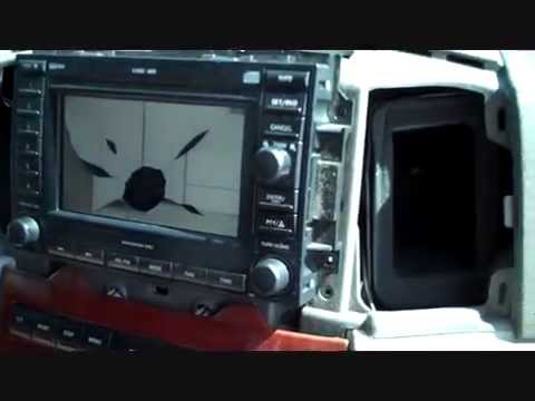 How to Jeep Grand Cherokee car Stereo Removal 2005 - 2007 navigation