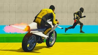 CORRE O TE ATROPELLO! MOTO TURBO!! - GTA V ONLINE - GTA 5 ONLINE