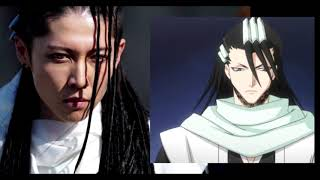 BLEACH ブリーチ LIVE ACTION CHARACTER COMPARISON WITH ORIGINAL DESIGN