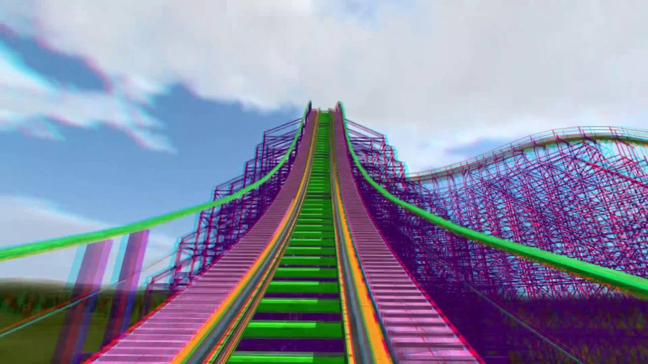 3d rollercoaster ultraviolet 3d anaglyph for phones for 3d kuchenplaner roller