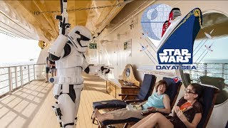 Star Wars Day At Sea! Disney Cruise Line - Disney Fantasy Cruise Ship