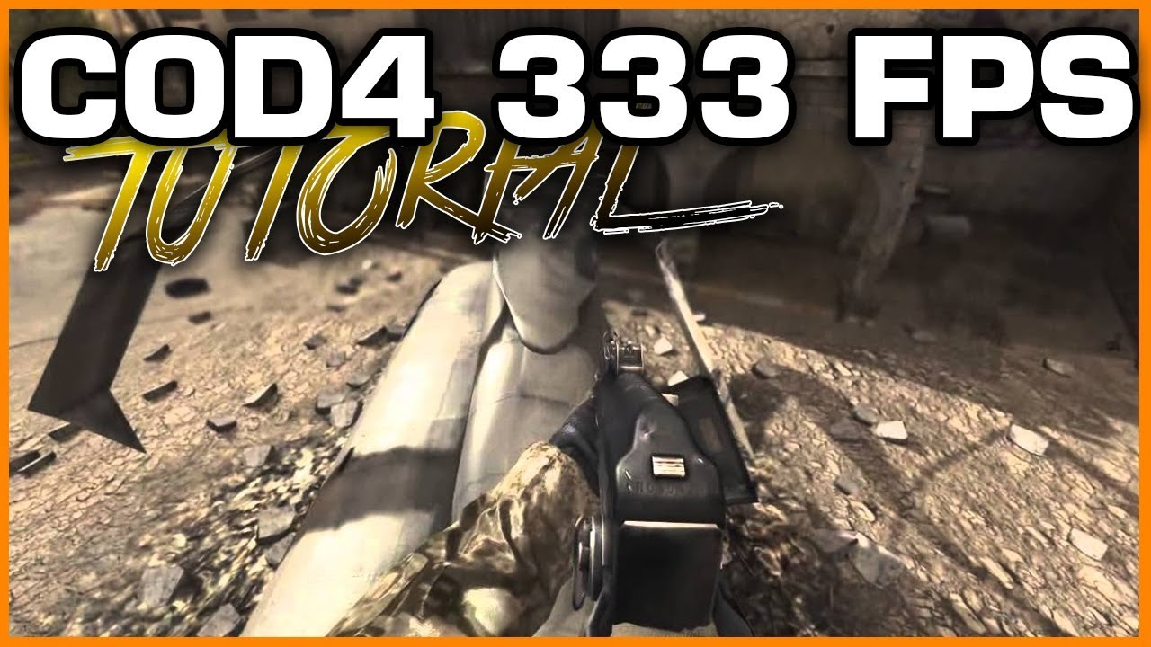How to Get , Enable , Unlock 333 FPS in COD4 Using NotePad ++   COD4 333  FPS 2018   The Malik Show