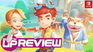 my Time At Portia Switch Review - STARDEW 3D!?