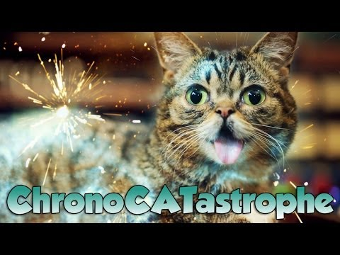 Petting Lil BUB takes you BACK IN TIME!