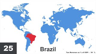 Which Countries Have the Highest Tax Rates?