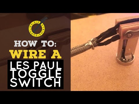 [DIAGRAM_3NM]  How to Wire a Les Paul Toggle Switch (Using Braided Guitar Wire) - YouTube | Switchcraft 3 Way Switch Wiring Diagram |  | YouTube