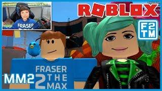 SallyGreenGamer & Fraser2TheMax in Roblox MM2