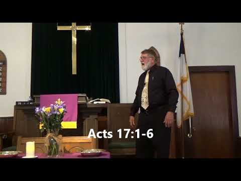 "Philippi Presbyterian Church - ""Turning the World Upside Down"""