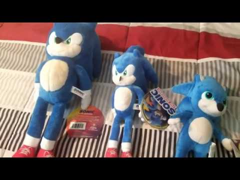 Sonic Movie Plush Part 2 2020 Toy Factory Ones Youtube