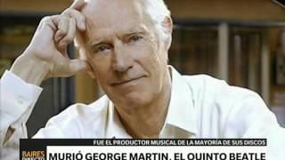 Murió George Martin - Telefe Noticias