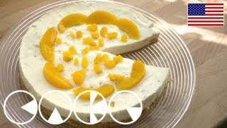 Cheese Pie With Peaches Recipe